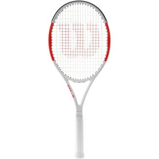 Wilson Six One 95 Team Tennisschläger white/red
