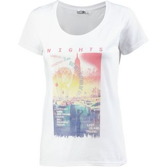 14 Ender Nights T-Shirt Damen white