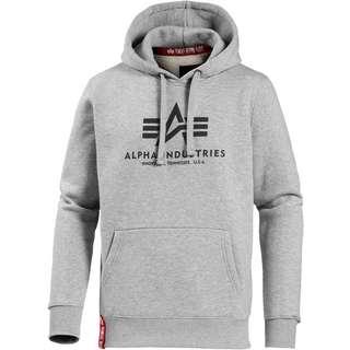Alpha Industries Hoodie Herren grey heather