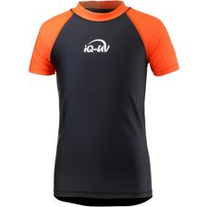 iQ UV-Shirt Kinder orange-schwarz