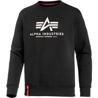 Alpha Industries Sweatshirt Herren black