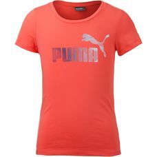 PUMA T-Shirt Kinder hot coral
