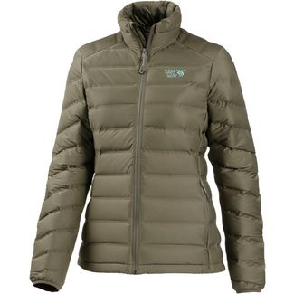 Mountain Hardwear StretchDown Daunenjacke Damen stone green