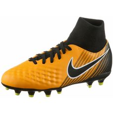 Nike JR MAGISTA ONDA II DF FG Fußballschuhe Kinder LASER ORANGE/BLACK-WHITE-VOLT-WHITE