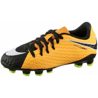 Nike JR HYPERVENOM PHELON III FG Fußballschuhe Kinder LASER ORANGE/BLACK-BLACK-VOLT-WHITE