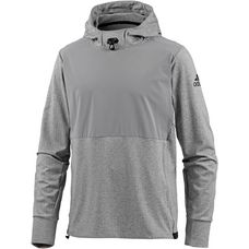 adidas Workout Over the Head Hoodie Herren ch solid grey