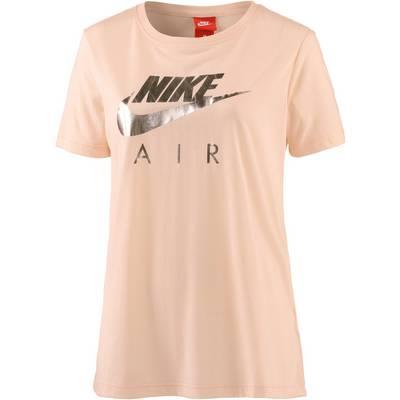 Nike NSW TEE AIR T-Shirt Damen ORANGE QUARTZ
