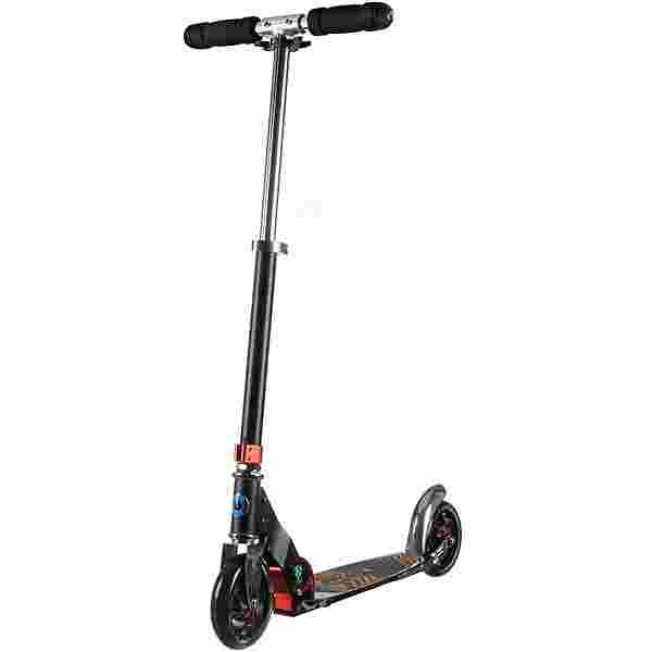 Micro Speed+ Scooter Kinder schwarz-orange