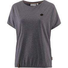 Naketano Schnella Baustella II T-Shirt Damen dark grey melange