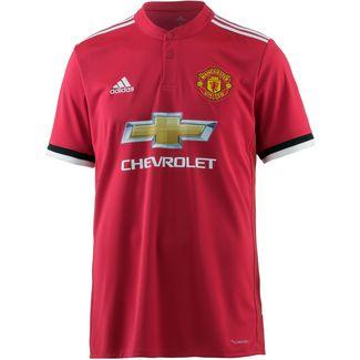 adidas Manchester United 17/18 Heim Fußballtrikot Herren real red