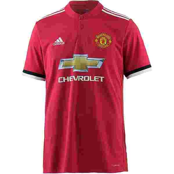 adidas Manchester United 17/18 Heim Trikot Herren real red