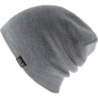 Jack Wolfskin Rib Beanie grey heather