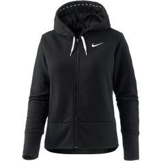 Nike Dry Sweatjacke Damen black-white