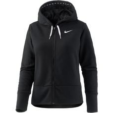 Nike Dry Sweatjacke Damen black-white