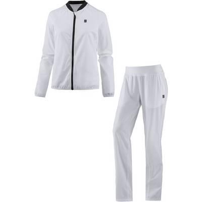 Nike Woven Warm Trainingsanzug Damen WHITE/BLACK/WHITE