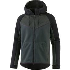 Nike Tech Fleece Hoodie Herren OUTDOOR GREEN/HTR/BLACK/BLACK