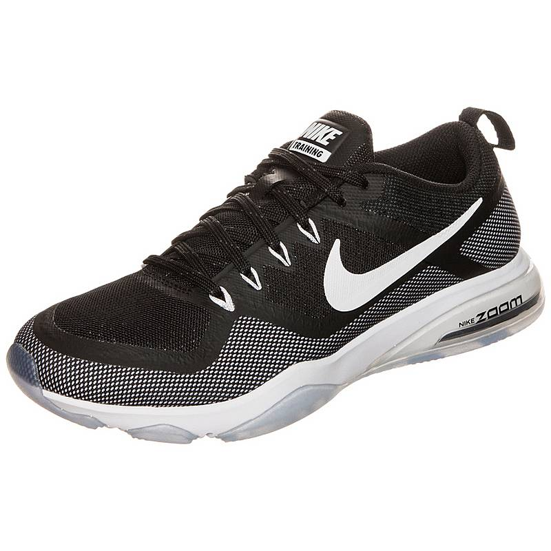 cheaper ac6c4 8343b authentic nikeair zoom fitness fitnessschuhedamen schwarz weiß d19b2 b8435