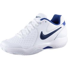 Nike WMNS AIR ZOOM RESISTANCE CLY Tennisschuhe Damen WHITE/BINARY BLUE-MEGA BLUE