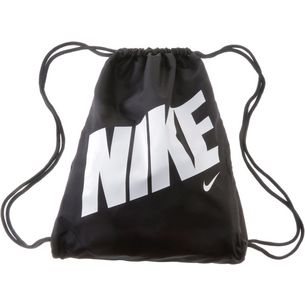 Nike Turnbeutel Kinder BLACK/BLACK/WHITE