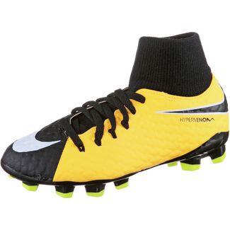 Nike JR HYPERVENOM PHELON 3 DF FG Fußballschuhe Kinder LASER ORANGE/BLACK-WHITE-VOLT