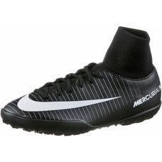 Nike JR MERCURIALX VICTORY 6 DF TF Fußballschuhe Kinder BLACK/WHITE-DK GREY-UNIV RED