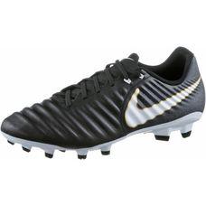 Nike TIEMPO LIGERA IV FG Fußballschuhe Herren BLACK/WHITE-BLACK-MTLC VIVID GOLD