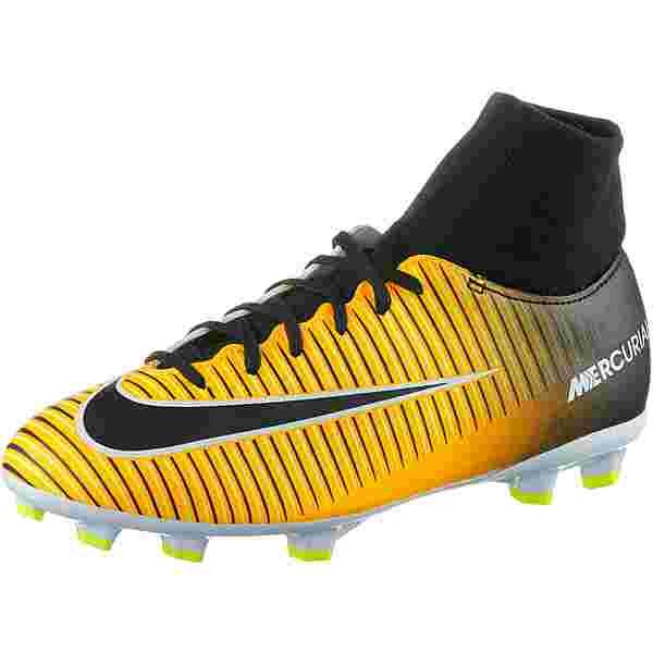 Nike JR MERCURIAL VICTORY VI DF FG Fußballschuhe Kinder laser orange-black-white-volt