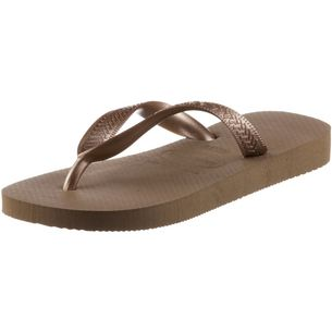 Havaianas Top Trias Zehensandalen Damen rose gold