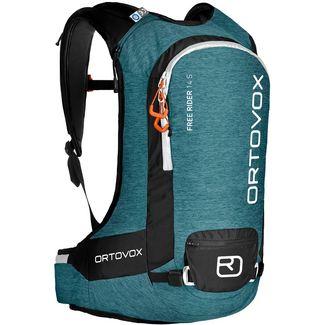 ORTOVOX FREE RIDER 14 S Tourenrucksack Damen aqua blend