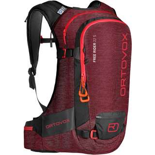 ORTOVOX FREE RIDER 22 S Tourenrucksack Damen dark blood blend