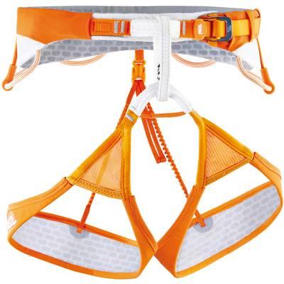 Petzl Sitta Klettergurt orange/weiß