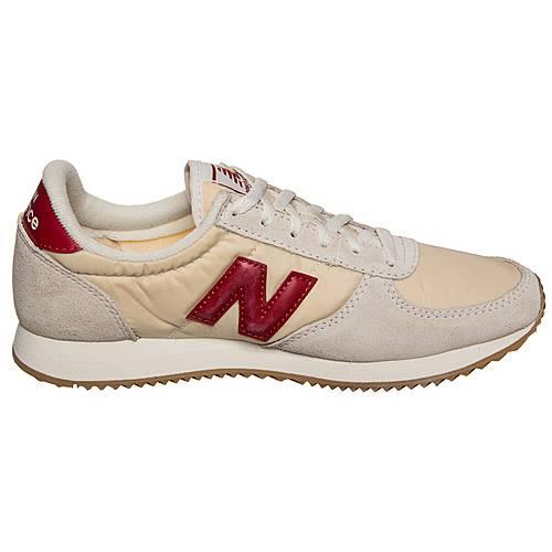 NEW BALANCE WL220 BG D Sneaker Damen beige rot im Online