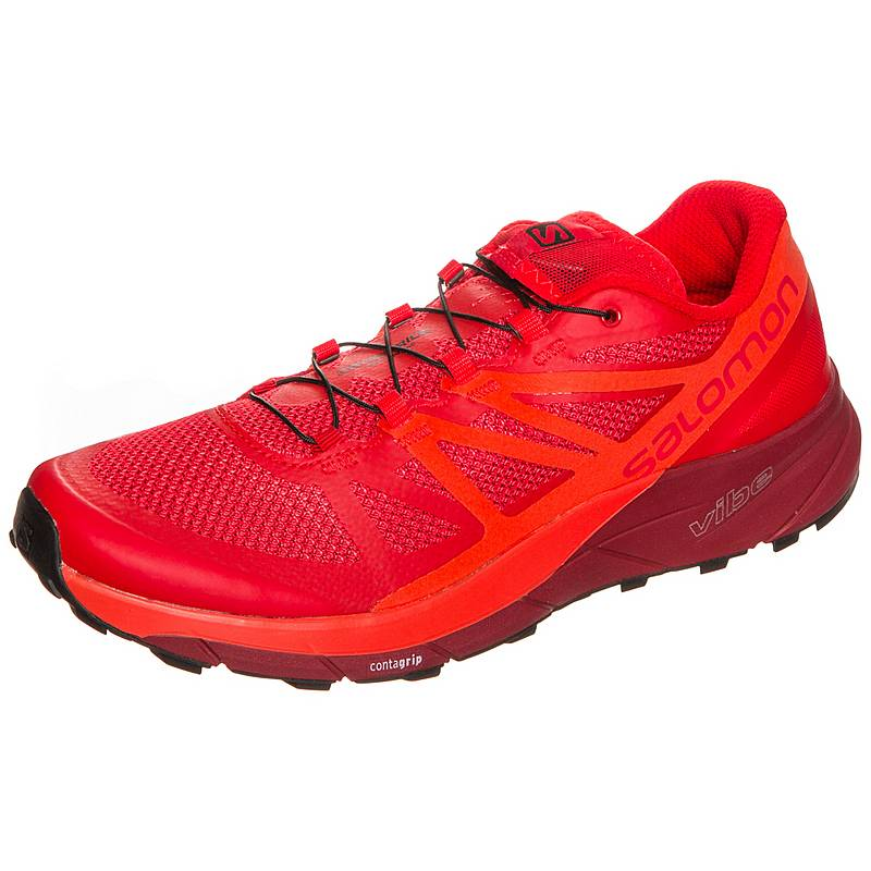 SalomonSense Ride  LaufschuheHerren  rot / orange
