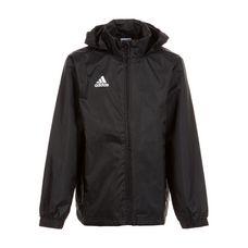 adidas Regenjacke Kinder schwarz / weiß