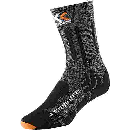 X-SOCKS Trekking Wandersocken grey-black