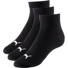 PUMA Quarter Socken Pack black