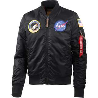 Alpha Industries VF NASA Bomberjacke Herren black