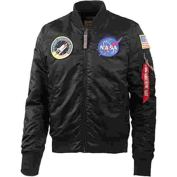 Alpha Industries VF NASA Bomberjacke Herren black