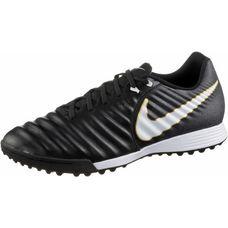 Nike TIEMPOX LIGERA IV TF Fußballschuhe Herren BLACK/WHITE-BLACK-MTLC VIVID GOLD