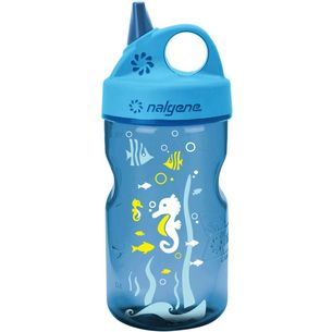 Nalgene Everyday Grip-n-Gulp Trinkflasche Kinder blau