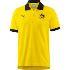 PUMA Borussia Dortmund Poloshirt Herren Cyber Yellow-Puma Black