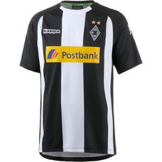 KAPPA Borussia Mönchengladbach 17/18 Ausweich Fußballtrikot Herren black