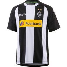 KAPPA Borussia Mönchengladbach 17/18 Ausweich Fußballtrikot Kinder black
