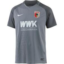 Nike FC Augsburg 17/18 Ausweich Fußballtrikot Herren grau