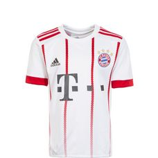 adidas FC Bayern 17/18 CL Fußballtrikot Kinder white