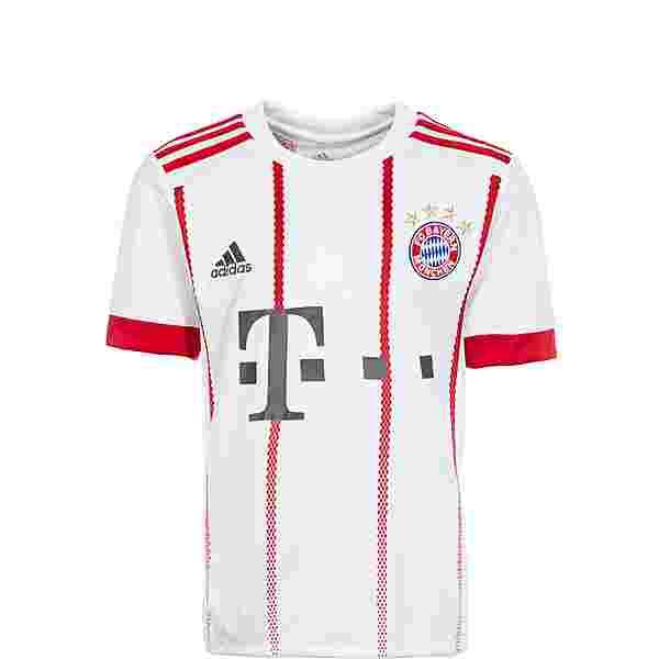 adidas FC Bayern 17/18 CL Trikot Kinder white