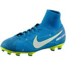 Nike JR MERCURIAL VCTRY 6 DF NJR FG Fußballschuhe Kinder BLUE ORBIT/WHITE-BLUE ORBIT-ARMORY NAVY-VOLT-VOLT