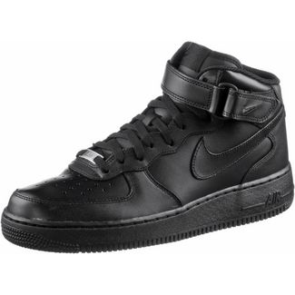 Nike AIR FORCE 1 MID '07 Sneaker Herren black-black-black