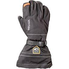 Hestra Army Leather Blizzard Lederhandschuhe svart