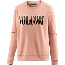 Volcom SOUND CHECK Sweatshirt Damen MELLOW ROSE